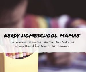 Nerdy Homeschool Mamas pinterest group board