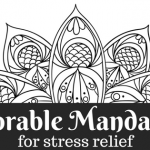 colorable mandalas for stress relief