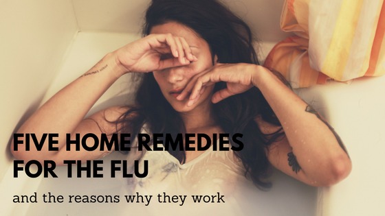 home remedies for the flu