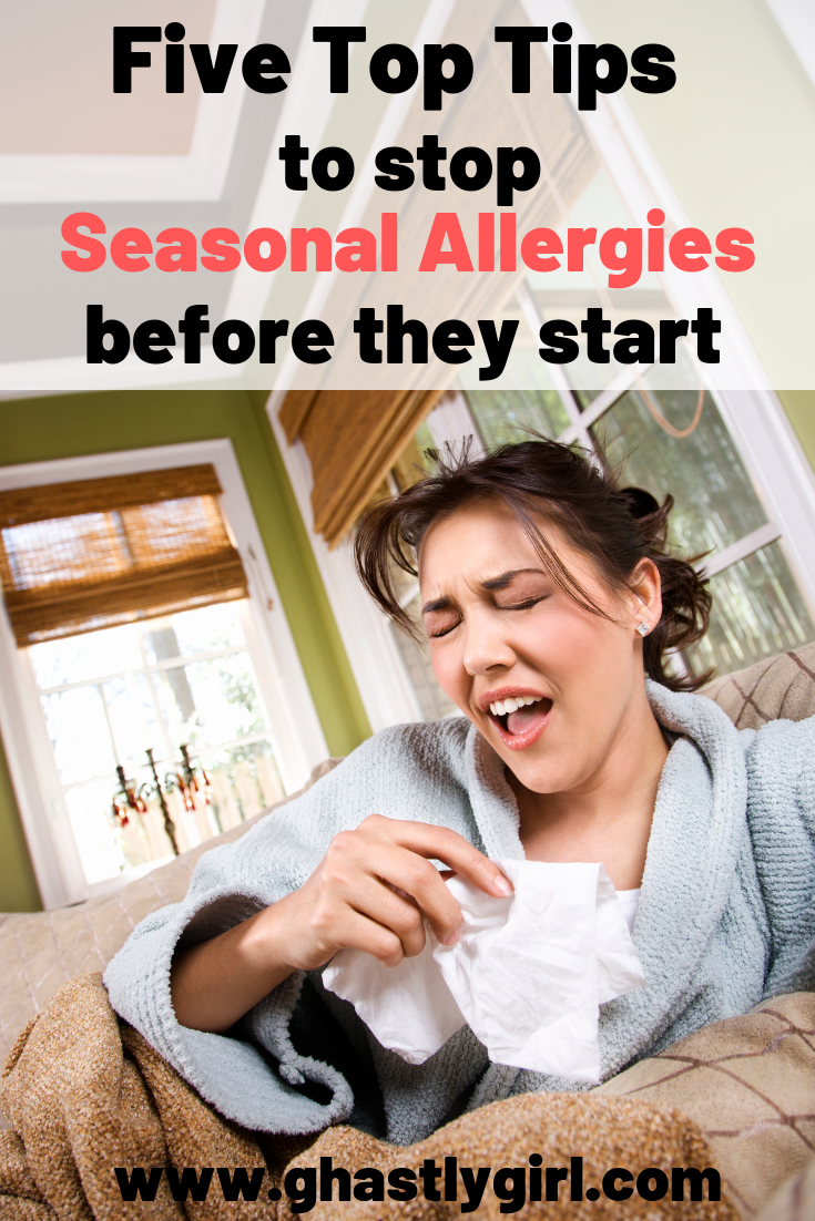 Simple ways to stop seasonal allergies before they start #seasonalallergies #allergysymptoms #remediesforallergies #dealingwithallergies